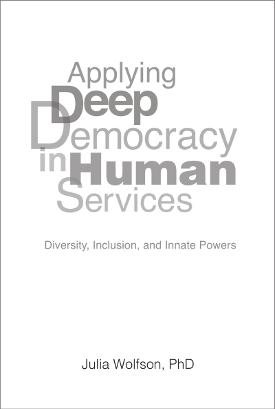 Book cover of Applying Deep Democracy in Human Services